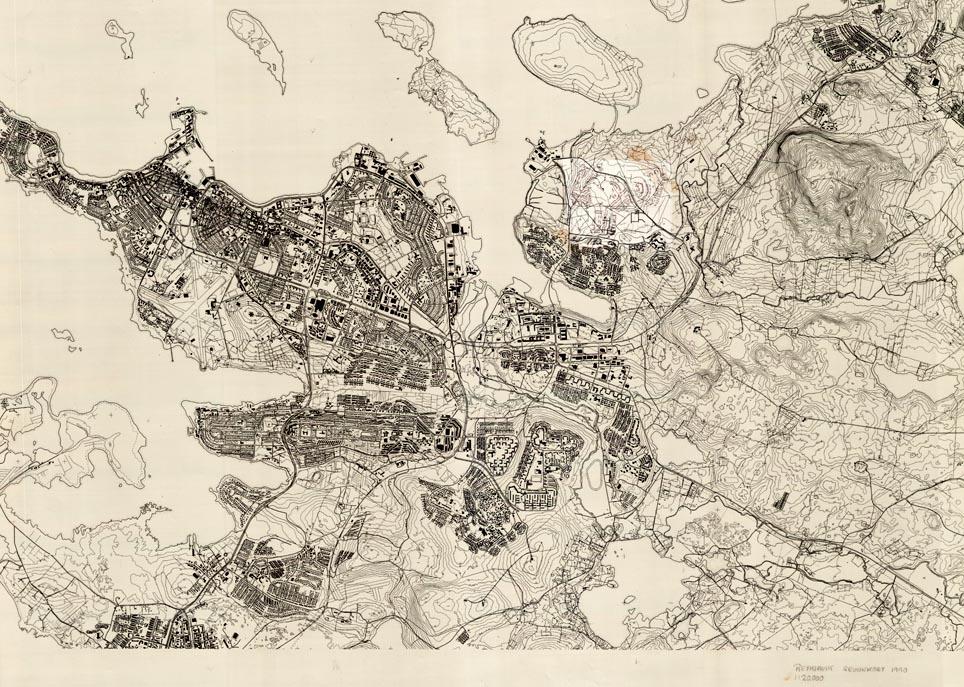historic reykjav u00edk maps
